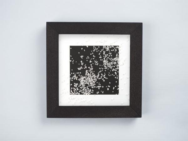 frame with salt
