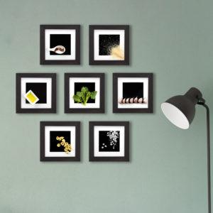 orecchiette recipe frames on the wall
