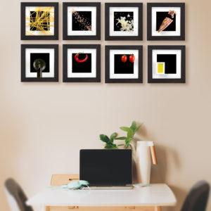 amatriciana frames on the wall