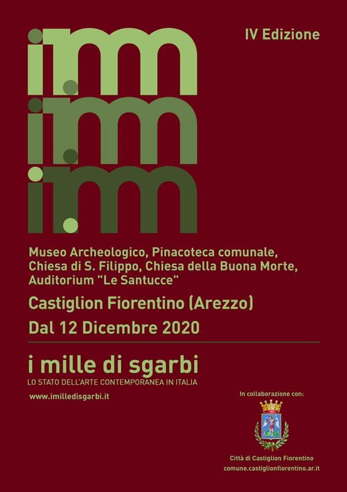 art exhibition poster Castiglion Fiorentino