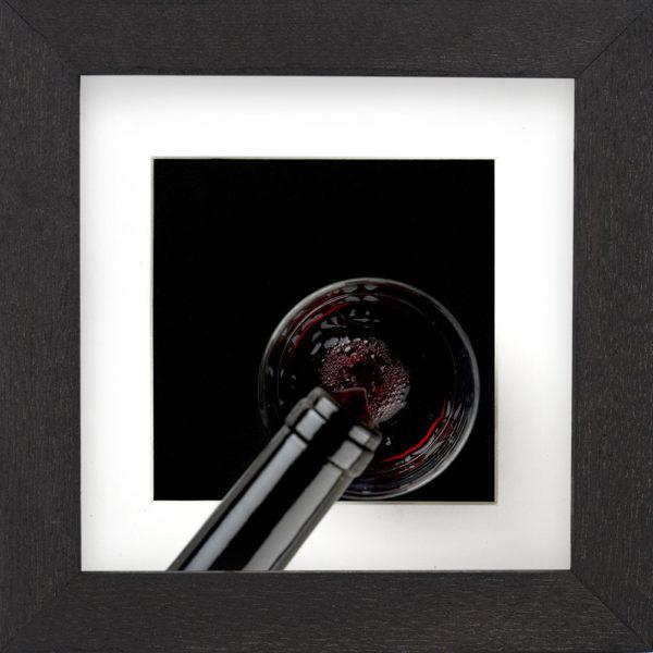 red wine frame