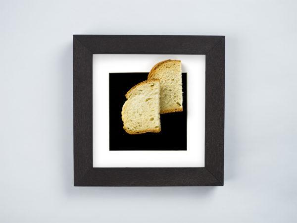 Stale bread frame