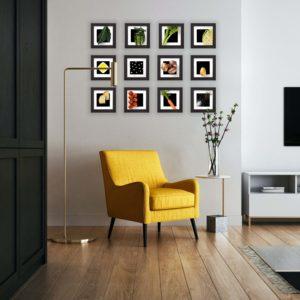 Ribollita frames on the wall